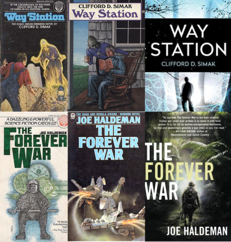 Simak Haldeman Covers